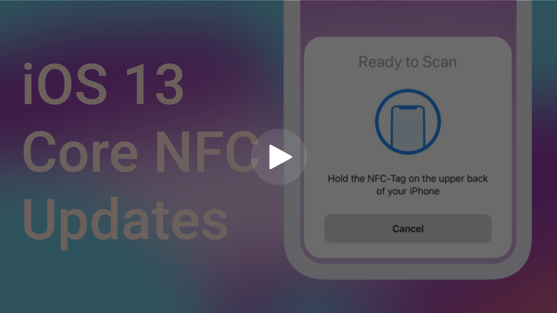 iOS 13 Core NFC Updates | iPhone 7, 8, X, XS, XR, 11